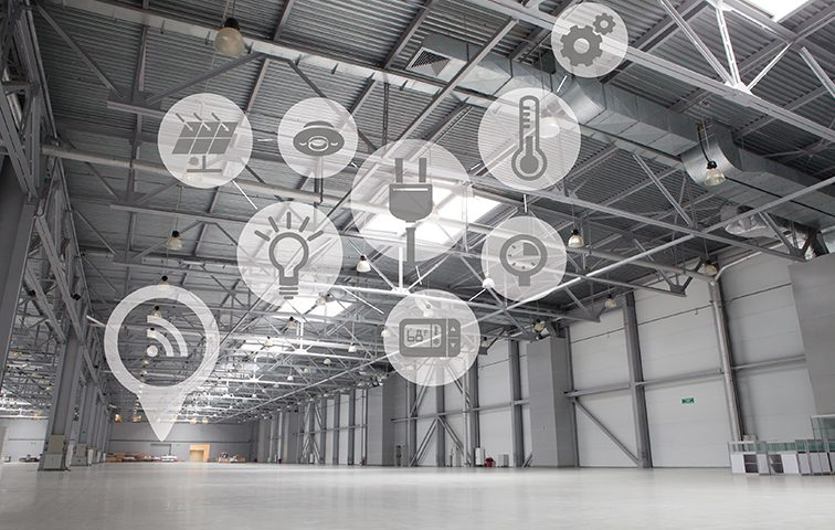 Smart warehouse controls for LED high bays in Australia