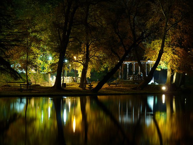Lighting Up Parks with LEDs